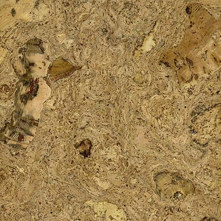 <p>Un motif dynamique et varie qui exploite la belle tapisserie organique de la croissance naturelle du chene de liège.</p>