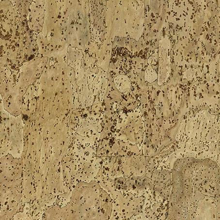 <p>Un motif subtilement topographique dont l'uniformité relative montre la belle texture du liège organique tout en maintenant une allure homogene pour le plancher entier.</p>